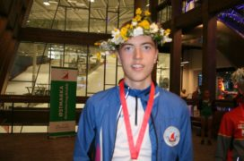 Gabriel Gjone med 3.plass på langdistansen Hovedløpet