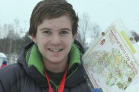 Hallvard tatt ut til ski-o-EM for ungdommer